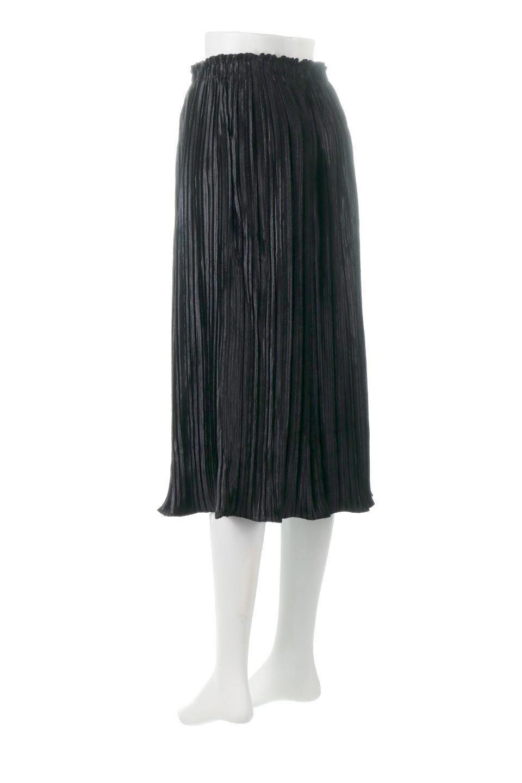PleatedVelourLongSkirtプリーツ・ベロアスカート大人カジュアルに最適な海外ファッションのothers(その他インポートアイテム)のボトムやスカート。ベロア地をプリーツ加工したロングスカート。たっぷりギャザーを寄せてあるので重量感があり、ストンとした落ち感です。/main-8