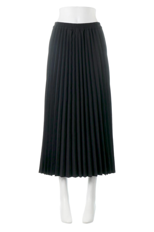 VeganSuedePleatedSkirtビーガンスエード・プリーツスカート大人カジュアルに最適な海外ファッションのothers(その他インポートアイテム)のボトムやスカート。マットな質感が魅力のビーガンスエードを使ったプリーツスカート。ウエストは全体がゴムになっています。/main-10