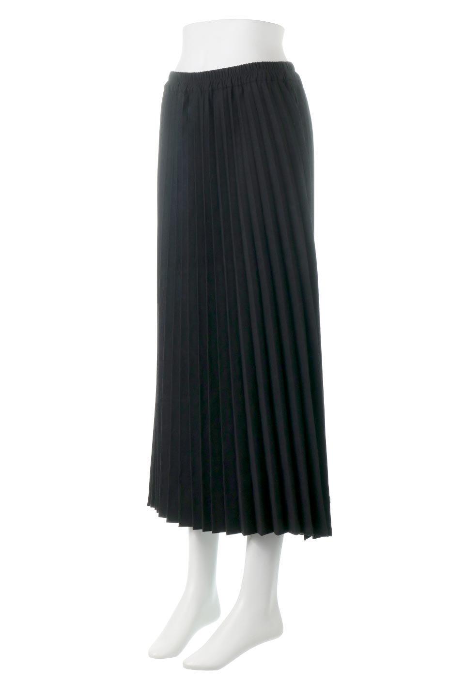 VeganSuedePleatedSkirtビーガンスエード・プリーツスカート大人カジュアルに最適な海外ファッションのothers(その他インポートアイテム)のボトムやスカート。マットな質感が魅力のビーガンスエードを使ったプリーツスカート。ウエストは全体がゴムになっています。/main-11