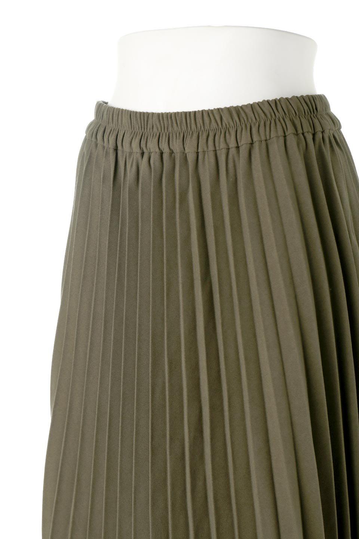 VeganSuedePleatedSkirtビーガンスエード・プリーツスカート大人カジュアルに最適な海外ファッションのothers(その他インポートアイテム)のボトムやスカート。マットな質感が魅力のビーガンスエードを使ったプリーツスカート。ウエストは全体がゴムになっています。/main-15