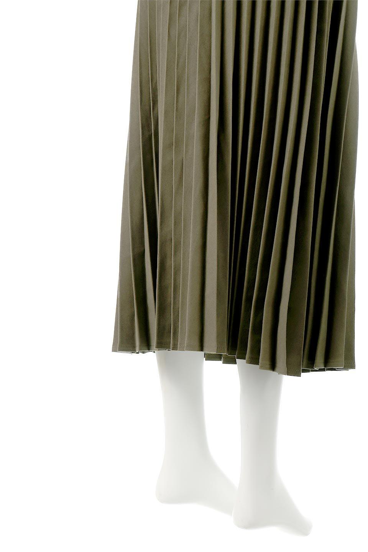 VeganSuedePleatedSkirtビーガンスエード・プリーツスカート大人カジュアルに最適な海外ファッションのothers(その他インポートアイテム)のボトムやスカート。マットな質感が魅力のビーガンスエードを使ったプリーツスカート。ウエストは全体がゴムになっています。/main-20