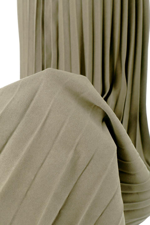 VeganSuedePleatedSkirtビーガンスエード・プリーツスカート大人カジュアルに最適な海外ファッションのothers(その他インポートアイテム)のボトムやスカート。マットな質感が魅力のビーガンスエードを使ったプリーツスカート。ウエストは全体がゴムになっています。/main-21