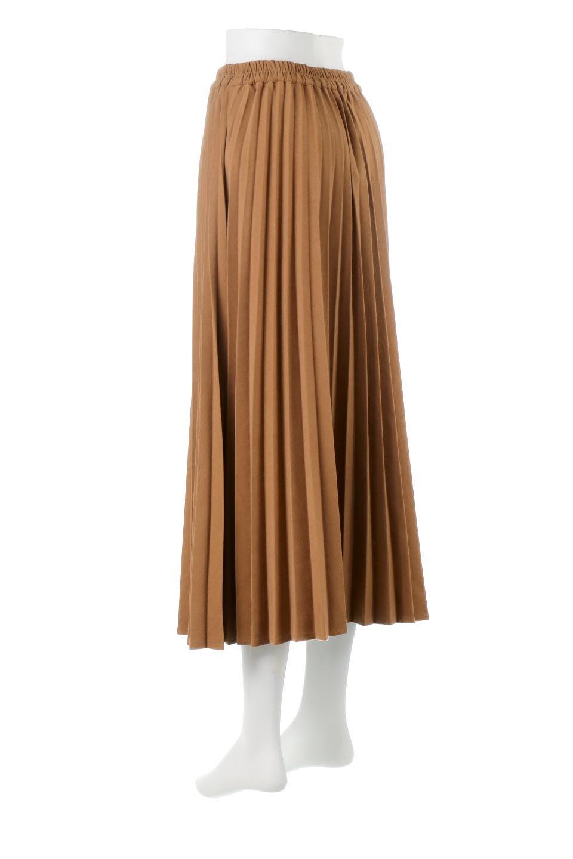 VeganSuedePleatedSkirtビーガンスエード・プリーツスカート大人カジュアルに最適な海外ファッションのothers(その他インポートアイテム)のボトムやスカート。マットな質感が魅力のビーガンスエードを使ったプリーツスカート。ウエストは全体がゴムになっています。/main-3