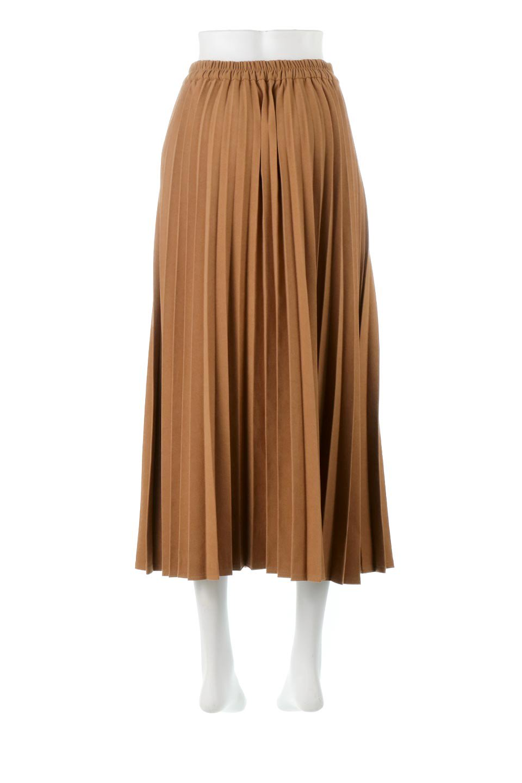 VeganSuedePleatedSkirtビーガンスエード・プリーツスカート大人カジュアルに最適な海外ファッションのothers(その他インポートアイテム)のボトムやスカート。マットな質感が魅力のビーガンスエードを使ったプリーツスカート。ウエストは全体がゴムになっています。/main-4