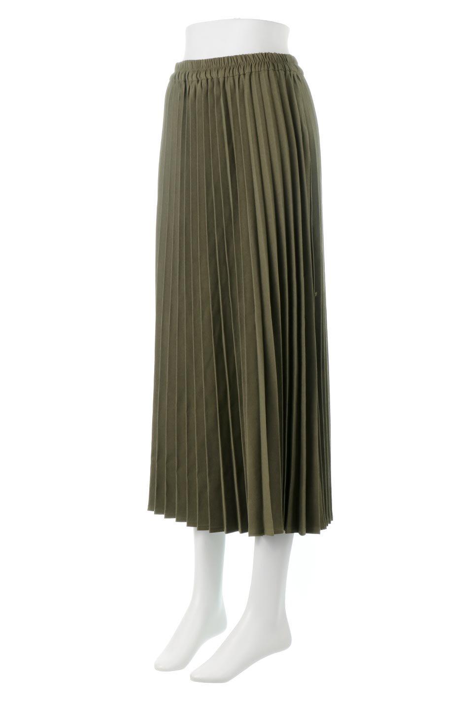 VeganSuedePleatedSkirtビーガンスエード・プリーツスカート大人カジュアルに最適な海外ファッションのothers(その他インポートアイテム)のボトムやスカート。マットな質感が魅力のビーガンスエードを使ったプリーツスカート。ウエストは全体がゴムになっています。/main-6