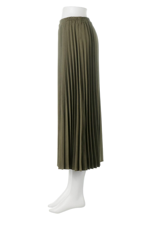 VeganSuedePleatedSkirtビーガンスエード・プリーツスカート大人カジュアルに最適な海外ファッションのothers(その他インポートアイテム)のボトムやスカート。マットな質感が魅力のビーガンスエードを使ったプリーツスカート。ウエストは全体がゴムになっています。/main-7