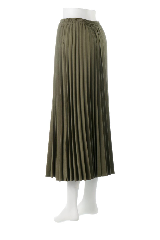 VeganSuedePleatedSkirtビーガンスエード・プリーツスカート大人カジュアルに最適な海外ファッションのothers(その他インポートアイテム)のボトムやスカート。マットな質感が魅力のビーガンスエードを使ったプリーツスカート。ウエストは全体がゴムになっています。/main-8