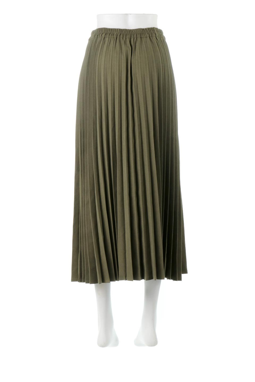 VeganSuedePleatedSkirtビーガンスエード・プリーツスカート大人カジュアルに最適な海外ファッションのothers(その他インポートアイテム)のボトムやスカート。マットな質感が魅力のビーガンスエードを使ったプリーツスカート。ウエストは全体がゴムになっています。/main-9