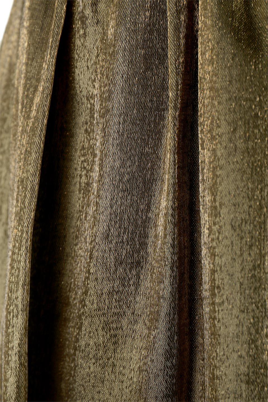 GatheredFlareShinnySkirtシャイニーポプリン・ギャザーフレアースカート大人カジュアルに最適な海外ファッションのothers(その他インポートアイテム)のボトムやスカート。上品な光沢がエレガントなロングフレアスカート。秋冬に合わせやすいロング丈で、それに合わせて裏地も長め。/main-20