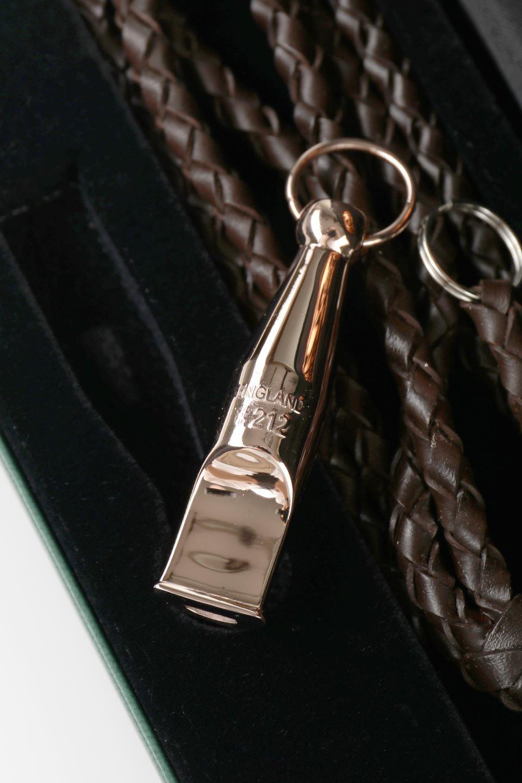AcmeのAcmeDogWhistleProTrialler(Silver&RoseGold)アクメ・ドッグホイッスル・プロトライアラー(純銀製&ローズゴールドメッキ)/ACMEWhistleのドッググッズやその他。1935年以来販売を開始してから世界中のトレーナーに愛され続けているACME社のドッグホイッスル(犬笛)の高級プレステージライン。#212は人のにも聞こえるサウンドを備えたオールランダー。/main-9