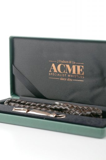 AcmeのAcme Dog Whistle Pro Trialler (Silver & Rose Gold) アクメ・ドッグホイッスル・プロトライアラー(純銀製&ローズゴールドメッキ)
