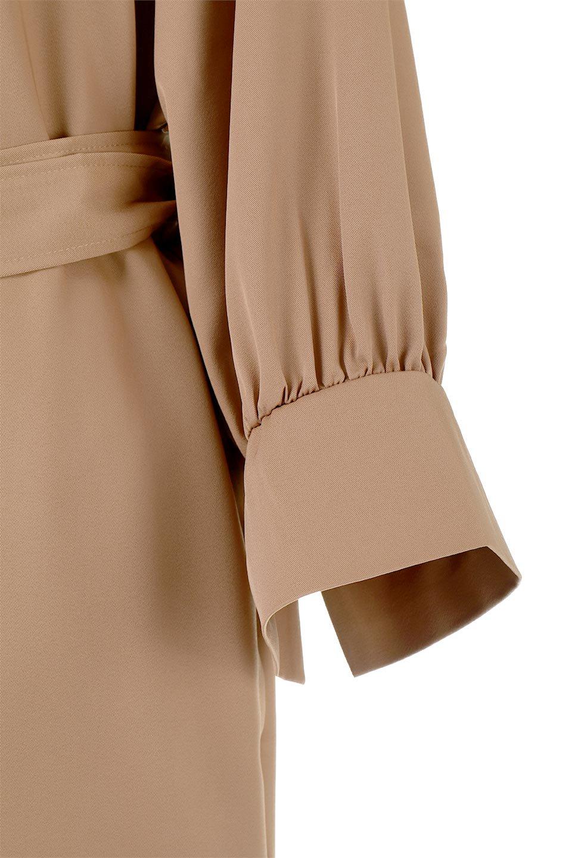 Mid-LengthTrenchDress膝下丈・トレンチワンピース大人カジュアルに最適な海外ファッションのothers(その他インポートアイテム)のワンピースやミディワンピース。毎年人気のトレンチライクなワンピース。BACKスタイルがトレンチコートのようなデザインで、1枚でこなれた印象に仕上がります。/main-11