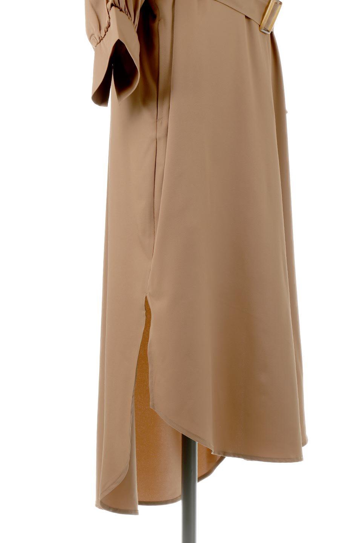 Mid-LengthTrenchDress膝下丈・トレンチワンピース大人カジュアルに最適な海外ファッションのothers(その他インポートアイテム)のワンピースやミディワンピース。毎年人気のトレンチライクなワンピース。BACKスタイルがトレンチコートのようなデザインで、1枚でこなれた印象に仕上がります。/main-12