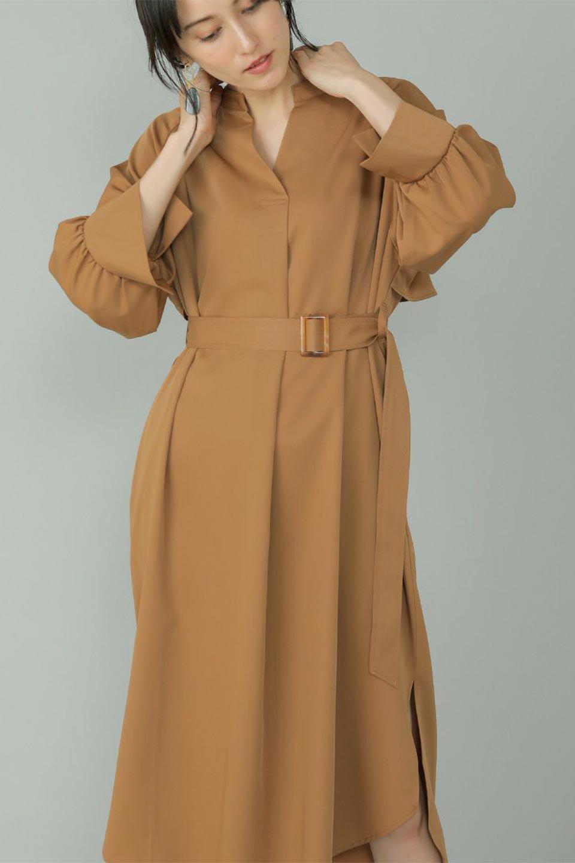Mid-LengthTrenchDress膝下丈・トレンチワンピース大人カジュアルに最適な海外ファッションのothers(その他インポートアイテム)のワンピースやミディワンピース。毎年人気のトレンチライクなワンピース。BACKスタイルがトレンチコートのようなデザインで、1枚でこなれた印象に仕上がります。/main-18