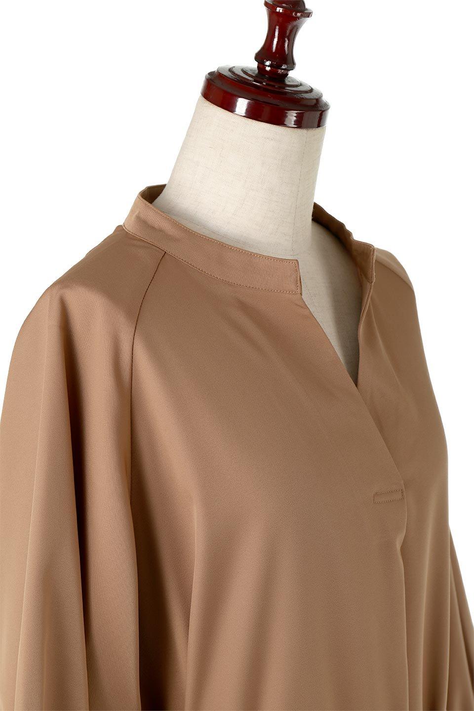 Mid-LengthTrenchDress膝下丈・トレンチワンピース大人カジュアルに最適な海外ファッションのothers(その他インポートアイテム)のワンピースやミディワンピース。毎年人気のトレンチライクなワンピース。BACKスタイルがトレンチコートのようなデザインで、1枚でこなれた印象に仕上がります。/main-5
