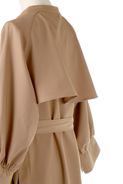 Mid-LengthTrenchDress膝下丈・トレンチワンピース大人カジュアルに最適な海外ファッションのothers(その他インポートアイテム)のワンピースやミディワンピース。毎年人気のトレンチライクなワンピース。BACKスタイルがトレンチコートのようなデザインで、1枚でこなれた印象に仕上がります。/main-8