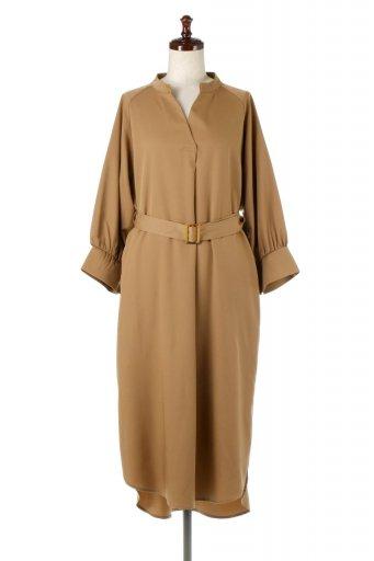 海外ファッションや大人カジュアルに最適なインポートセレクトアイテムのMid-Length Trench Dress 膝下丈・トレンチワンピース