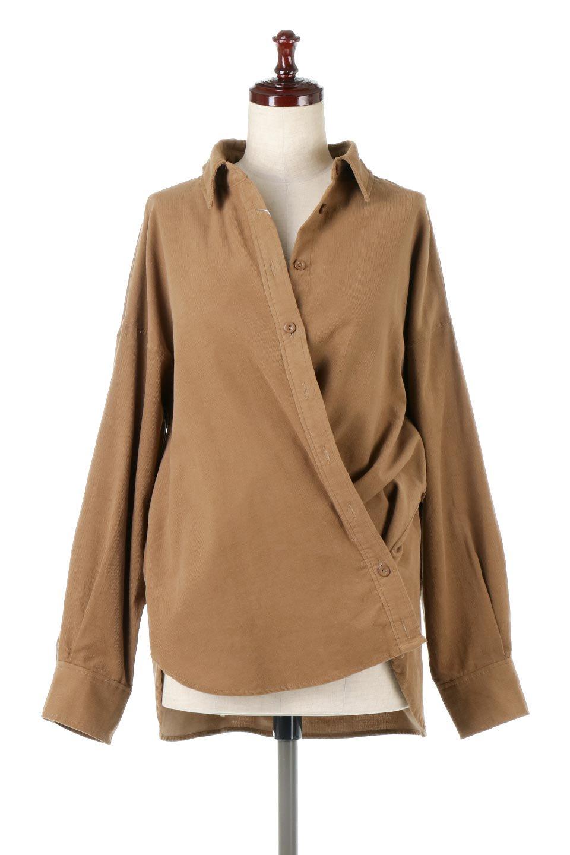 2WayCorduroyOverShirts2ウェイ・コーデュロイシャツ大人カジュアルに最適な海外ファッションのothers(その他インポートアイテム)のトップスやシャツ・ブラウス。着回しやすさバツグンの細うねコーデュロイのアレンジシャツ。2パターンの着こなしが楽しめる仕様となっています。