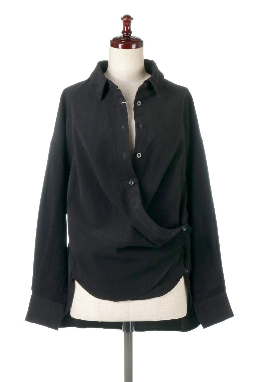 2WayCorduroyOverShirts2ウェイ・コーデュロイシャツ大人カジュアルに最適な海外ファッションのothers(その他インポートアイテム)のトップスやシャツ・ブラウス。着回しやすさバツグンの細うねコーデュロイのアレンジシャツ。2パターンの着こなしが楽しめる仕様となっています。/main-10