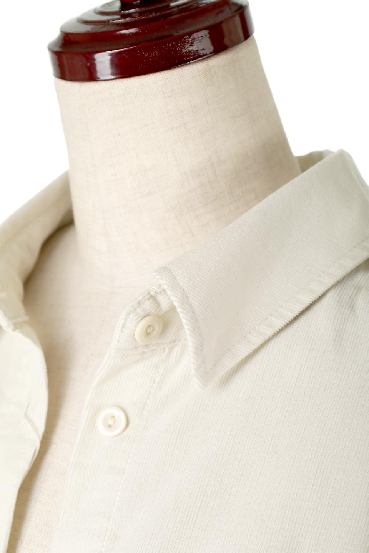 2WayCorduroyOverShirts2ウェイ・コーデュロイシャツ大人カジュアルに最適な海外ファッションのothers(その他インポートアイテム)のトップスやシャツ・ブラウス。着回しやすさバツグンの細うねコーデュロイのアレンジシャツ。2パターンの着こなしが楽しめる仕様となっています。/main-19