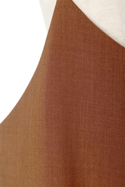 DoubleStrappedWideStyleAll-In-Oneダブルストラップ・ワイドサロペットのボトムやロンパース類。細い2本使いのストラップで、大人っぽく着こなせるサロペット。パンツなのにスカートのように見えるデザインで、ブラウスのような綾織が上品で高見えし、きれいめからカジュアルまで幅広いコーデに対応。/main-14