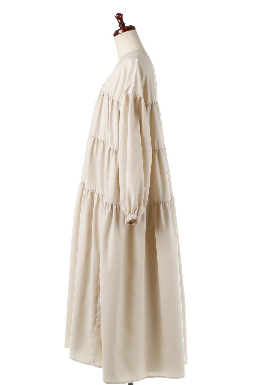 PeachFaceTieredDressピーチフェイス・ティアードワンピース大人カジュアルに最適な海外ファッションのothers(その他インポートアイテム)のワンピースやマキシワンピース。温かみのあるピーチフェイス加工の素材を使用したロングティアードワンピース。ゆったりとしたシルエットで透け感もなく秋冬に活躍しそうなアイテムです。/main-7