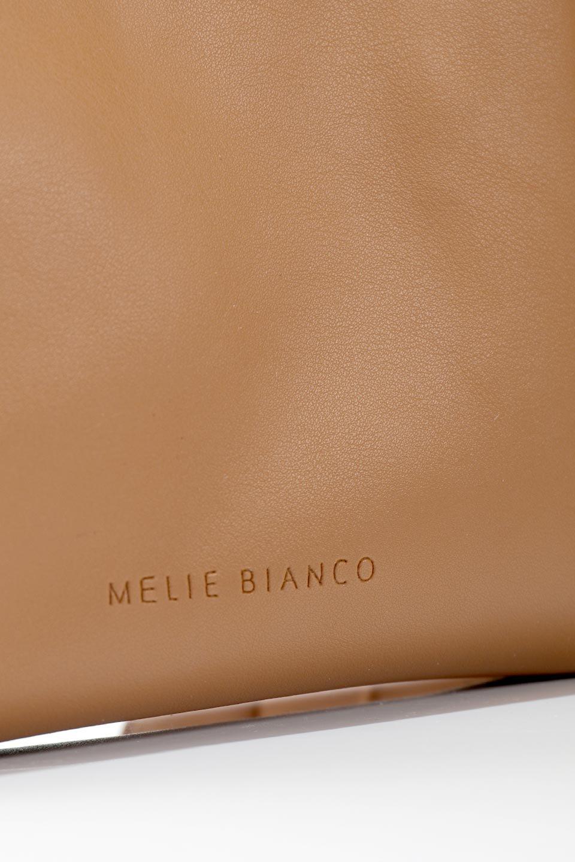 meliebiancoのCarrie(Tan)アコーディオンプリーツ・ミニショルダーバッグ/海外ファッション好きにオススメのインポートバッグとかばん、MelieBianco(メリービアンコ)のバッグやショルダーバッグ。アコーディオンプリーツの陰影が美しいポーチ付きのショルダーハンドバッグ。しっかりとしたビーガンレザーを使用しているので、プリーツがクタクタになることはありません。/main-11