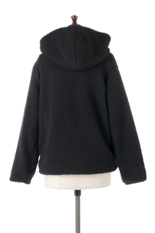 ShearlingFleeceHoodedJacketボアフリース・フード付きジャケット大人カジュアルに最適な海外ファッションのothers(その他インポートアイテム)のアウターやジャケット。もこもこボアのあったかフリースジャケット。程よいミドル丈がボトムスを選ばずコーデを楽しむことができるニュアンスカラーの万能アウターはインナーを変えて秋口から真冬にかけて大活躍。/main-14