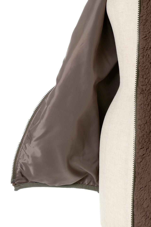 ShearlingFleeceHoodedJacketボアフリース・フード付きジャケット大人カジュアルに最適な海外ファッションのothers(その他インポートアイテム)のアウターやジャケット。もこもこボアのあったかフリースジャケット。程よいミドル丈がボトムスを選ばずコーデを楽しむことができるニュアンスカラーの万能アウターはインナーを変えて秋口から真冬にかけて大活躍。/main-21