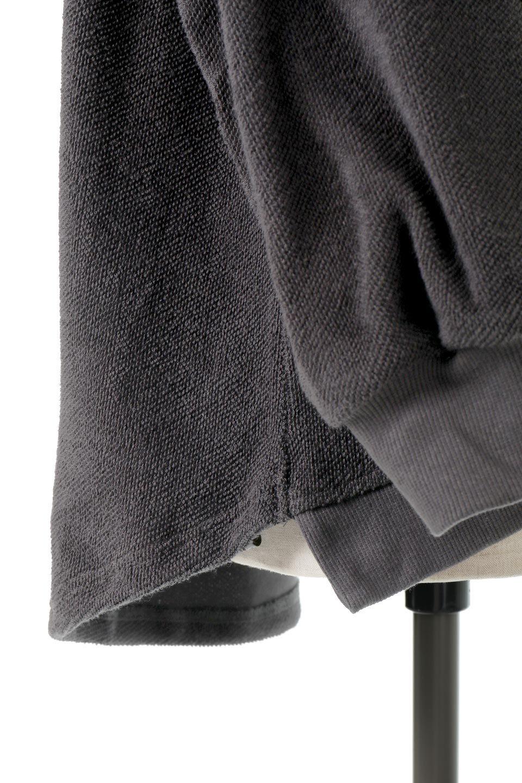 SweatNylonSwitchingHoodieナイロン切り替え・スウェットパーカー大人カジュアルに最適な海外ファッションのothers(その他インポートアイテム)のトップスやカットソー。アウトドアでも大活躍。スウェットの裏地を活かしたナイロン切り替えパーカー。/main-19