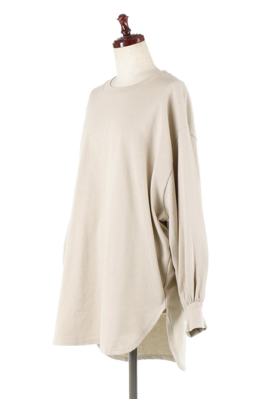 BalloonSleeveHeavyWeightTeeボリュームスリーブ・ヘビーロンT大人カジュアルに最適な海外ファッションのothers(その他インポートアイテム)のトップスやカットソー。Tシャツ以上、スェット未満の肉厚のコットン天竺ロンT。ボリュームスリーブがポイントとなっていて、カジュアルさの中にもかわいいポイントとなっています。/main-1