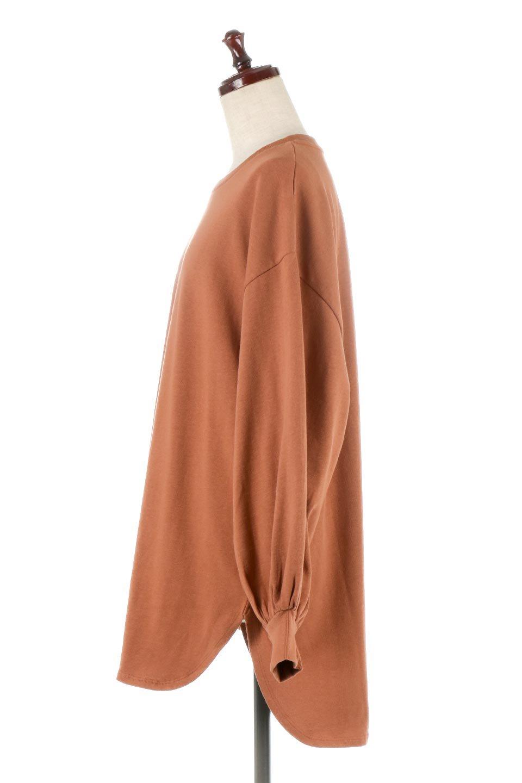 BalloonSleeveHeavyWeightTeeボリュームスリーブ・ヘビーロンT大人カジュアルに最適な海外ファッションのothers(その他インポートアイテム)のトップスやカットソー。Tシャツ以上、スェット未満の肉厚のコットン天竺ロンT。ボリュームスリーブがポイントとなっていて、カジュアルさの中にもかわいいポイントとなっています。/main-12