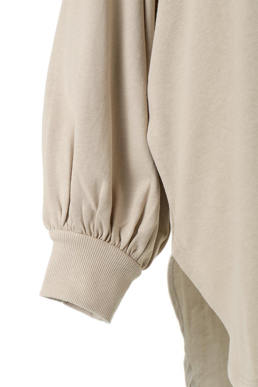 BalloonSleeveHeavyWeightTeeボリュームスリーブ・ヘビーロンT大人カジュアルに最適な海外ファッションのothers(その他インポートアイテム)のトップスやカットソー。Tシャツ以上、スェット未満の肉厚のコットン天竺ロンT。ボリュームスリーブがポイントとなっていて、カジュアルさの中にもかわいいポイントとなっています。/main-23