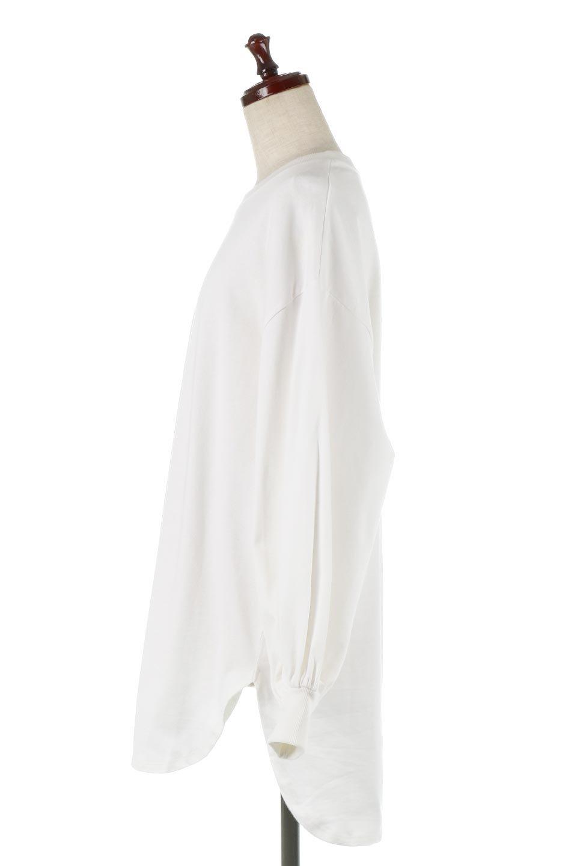 BalloonSleeveHeavyWeightTeeボリュームスリーブ・ヘビーロンT大人カジュアルに最適な海外ファッションのothers(その他インポートアイテム)のトップスやカットソー。Tシャツ以上、スェット未満の肉厚のコットン天竺ロンT。ボリュームスリーブがポイントとなっていて、カジュアルさの中にもかわいいポイントとなっています。/main-7