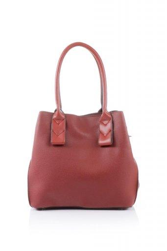 海外ファッションや大人カジュアルのためのインポートバッグ、かばんmelie bianco(メリービアンコ)のAlma (Burgundy) スムースレザー・ハンドバッグ