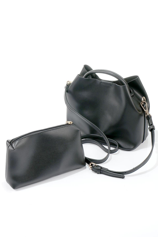 meliebiancoのAnnie(Black)ポーチ付き・ミニハンドバッグ/海外ファッション好きにオススメのインポートバッグとかばん、MelieBianco(メリービアンコ)のバッグやショルダーバッグ。ストラップを付ければショルダーバッグにもなる2Wayタイプのミニハンドバッグ。小さなボディの中には同色のポーチが付属します。/main-14