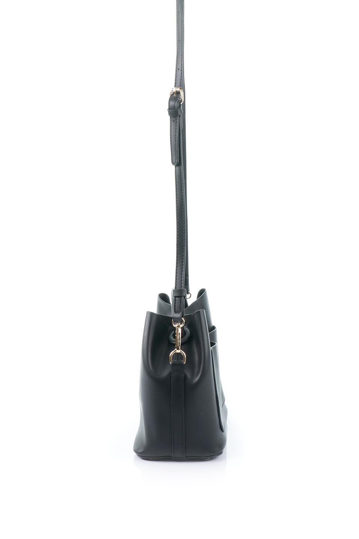 meliebiancoのAnnie(Black)ポーチ付き・ミニハンドバッグ/海外ファッション好きにオススメのインポートバッグとかばん、MelieBianco(メリービアンコ)のバッグやショルダーバッグ。ストラップを付ければショルダーバッグにもなる2Wayタイプのミニハンドバッグ。小さなボディの中には同色のポーチが付属します。/main-2