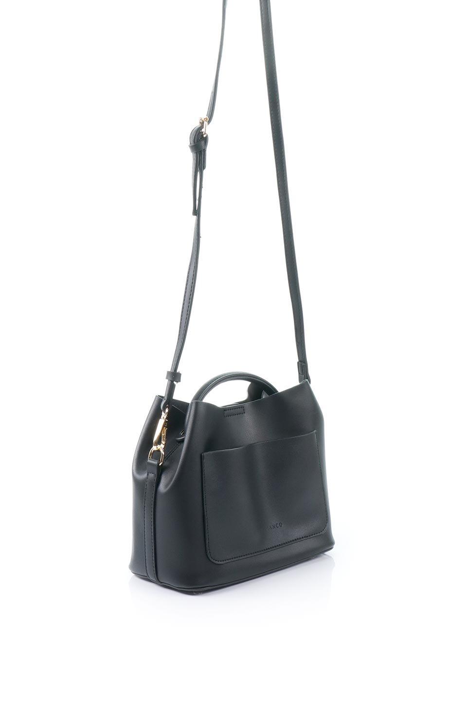 meliebiancoのAnnie(Black)ポーチ付き・ミニハンドバッグ/海外ファッション好きにオススメのインポートバッグとかばん、MelieBianco(メリービアンコ)のバッグやショルダーバッグ。ストラップを付ければショルダーバッグにもなる2Wayタイプのミニハンドバッグ。小さなボディの中には同色のポーチが付属します。/main-3