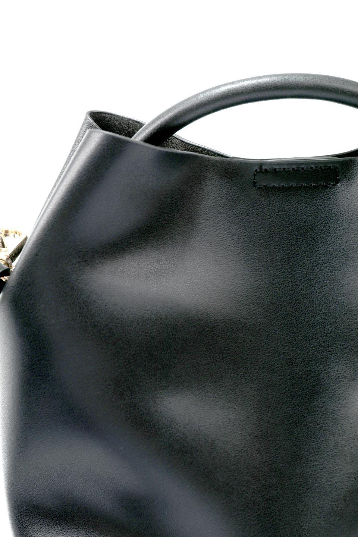 meliebiancoのAnnie(Black)ポーチ付き・ミニハンドバッグ/海外ファッション好きにオススメのインポートバッグとかばん、MelieBianco(メリービアンコ)のバッグやショルダーバッグ。ストラップを付ければショルダーバッグにもなる2Wayタイプのミニハンドバッグ。小さなボディの中には同色のポーチが付属します。/main-7