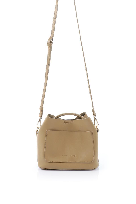 meliebiancoのAnnie(Tan)ポーチ付き・ミニハンドバッグ/海外ファッション好きにオススメのインポートバッグとかばん、MelieBianco(メリービアンコ)のバッグやショルダーバッグ。ストラップを付ければショルダーバッグにもなる2Wayタイプのミニハンドバッグ。小さなボディの中には同色のポーチが付属します。/main-4