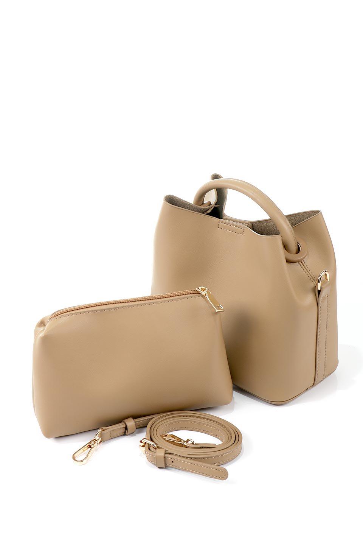 meliebiancoのAnnie(Tan)ポーチ付き・ミニハンドバッグ/海外ファッション好きにオススメのインポートバッグとかばん、MelieBianco(メリービアンコ)のバッグやショルダーバッグ。ストラップを付ければショルダーバッグにもなる2Wayタイプのミニハンドバッグ。小さなボディの中には同色のポーチが付属します。/main-8