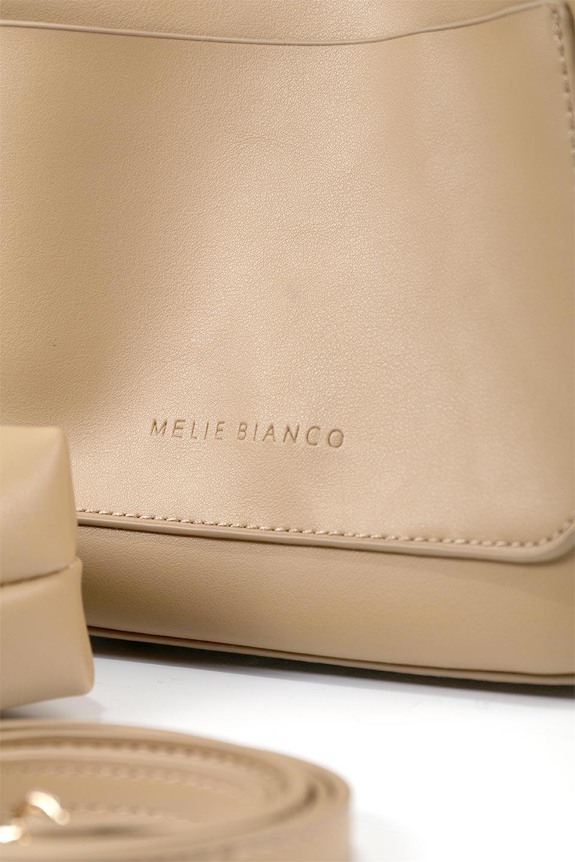 meliebiancoのAnnie(Tan)ポーチ付き・ミニハンドバッグ/海外ファッション好きにオススメのインポートバッグとかばん、MelieBianco(メリービアンコ)のバッグやショルダーバッグ。ストラップを付ければショルダーバッグにもなる2Wayタイプのミニハンドバッグ。小さなボディの中には同色のポーチが付属します。/main-9