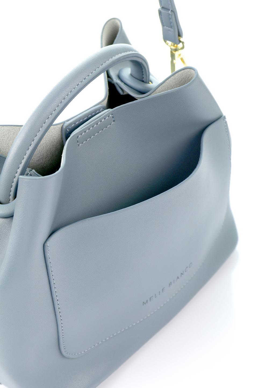 meliebiancoのAnnie(Slate)ポーチ付き・ミニハンドバッグ/海外ファッション好きにオススメのインポートバッグとかばん、MelieBianco(メリービアンコ)のバッグやショルダーバッグ。ストラップを付ければショルダーバッグにもなる2Wayタイプのミニハンドバッグ。小さなボディの中には同色のポーチが付属します。/main-10