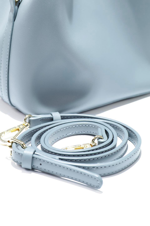 meliebiancoのAnnie(Slate)ポーチ付き・ミニハンドバッグ/海外ファッション好きにオススメのインポートバッグとかばん、MelieBianco(メリービアンコ)のバッグやショルダーバッグ。ストラップを付ければショルダーバッグにもなる2Wayタイプのミニハンドバッグ。小さなボディの中には同色のポーチが付属します。/main-11