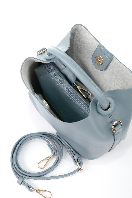 meliebiancoのAnnie(Slate)ポーチ付き・ミニハンドバッグ/海外ファッション好きにオススメのインポートバッグとかばん、MelieBianco(メリービアンコ)のバッグやショルダーバッグ。ストラップを付ければショルダーバッグにもなる2Wayタイプのミニハンドバッグ。小さなボディの中には同色のポーチが付属します。/main-14
