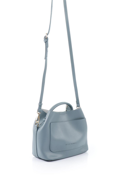 meliebiancoのAnnie(Slate)ポーチ付き・ミニハンドバッグ/海外ファッション好きにオススメのインポートバッグとかばん、MelieBianco(メリービアンコ)のバッグやショルダーバッグ。ストラップを付ければショルダーバッグにもなる2Wayタイプのミニハンドバッグ。小さなボディの中には同色のポーチが付属します。/main-3