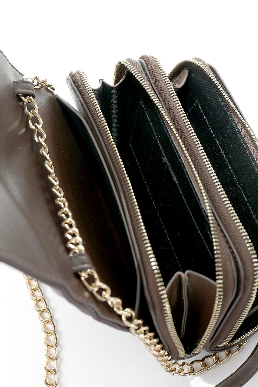 meliebiancoのBrianna(Chocolate)キルティングレザー・ミニショルダーバッグ/海外ファッション好きにオススメのインポートバッグとかばん、MelieBianco(メリービアンコ)のバッグやショルダーバッグ。メインの収納部分が2つある整理上手なミニショルダーバッグ。両サイドにもポケットがあり、ちょっとしたオーガナイザーとしても活躍するバッグです。/main-14