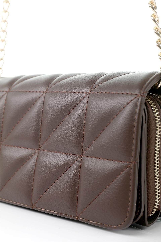 meliebiancoのBrianna(Chocolate)キルティングレザー・ミニショルダーバッグ/海外ファッション好きにオススメのインポートバッグとかばん、MelieBianco(メリービアンコ)のバッグやショルダーバッグ。メインの収納部分が2つある整理上手なミニショルダーバッグ。両サイドにもポケットがあり、ちょっとしたオーガナイザーとしても活躍するバッグです。/main-8