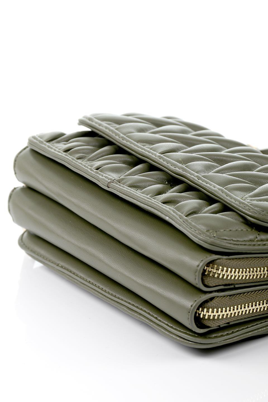meliebiancoのGiselle(Moss)ブレイドキルティング・ミニショルダーバッグ/海外ファッション好きにオススメのインポートバッグとかばん、MelieBianco(メリービアンコ)のバッグやショルダーバッグ。編み込み状のキルティングレザーが美しいショルダーバッグ。ソフトで滑らかなビーガンレザーのキルティングはしっとりと最高の手触り。/main-11