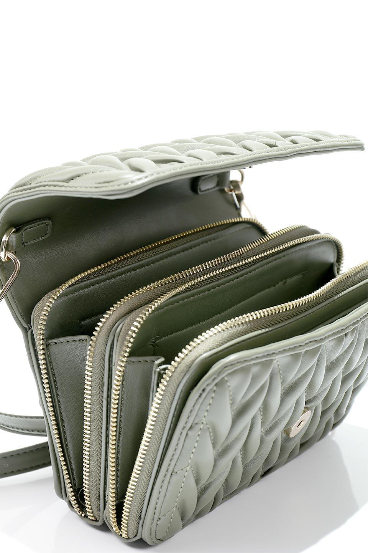 meliebiancoのGiselle(Moss)ブレイドキルティング・ミニショルダーバッグ/海外ファッション好きにオススメのインポートバッグとかばん、MelieBianco(メリービアンコ)のバッグやショルダーバッグ。編み込み状のキルティングレザーが美しいショルダーバッグ。ソフトで滑らかなビーガンレザーのキルティングはしっとりと最高の手触り。/main-13